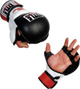 TITLE Gel MMA Ultimate Training Gloves