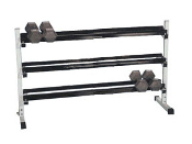 Apollo Large 3 Tier Dumbbell Rack