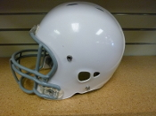 Used Riddell Revolution Attack Youth Football Helmet - White