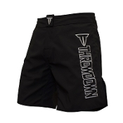 Throwdown Stealth 6 Fight Shorts - Black