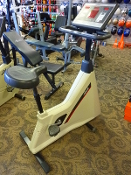 Life Cycle 6500HR Upright Exercise Bike