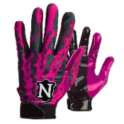 Neumann RAGE Receiver Gloves - Adult Pink