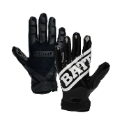 Battle Ultra-Stick Receiver Gloves - Youth Black