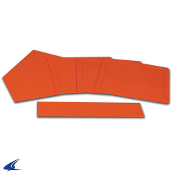 Champro 5 Piece Throw Down Bases - Orange