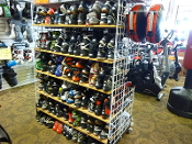Used Wrestling and Boxing Shoes....Over 50 Pairs Available