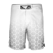 Bad Boy Legacy III Fight Shorts - White