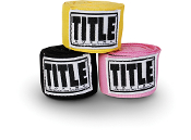Title Mexican Style Hand Wraps - 3 Colors Available