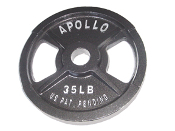 2 1/2 LB Olympic Grip Plate