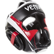 Venum Elite Headgear - Black/Red/White