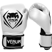 "Venum ""Contender"" Boxing Gloves - White"