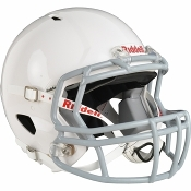 New Youth Riddell Victor Helmet - White