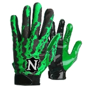 Neumann RAGE Receiver Gloves - Adult Green
