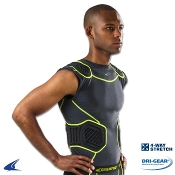 Youth Champro Bull Rush Compression Padded Shirt