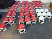 Used Adult Riddell Revolution Football Helmets
