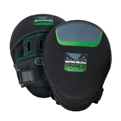 Bad Boy Pro Series 3.0 Punch Mitts - Green