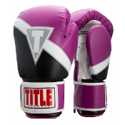 Title Classic Revive Boxing Gloves - Purple