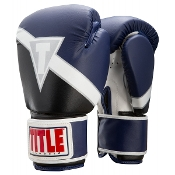 Title Classic Revive Boxing Gloves - Navy