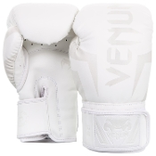 Venum Elite Boxing Gloves - White