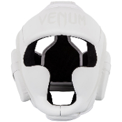 Venum Elite Headgear - White