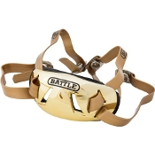Adult Battle Chrome Chinstrap - Gold