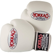 Yokkao Matrix Thai Boxing Gloves - White