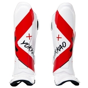 Yokkao X-White/Red Shinguards